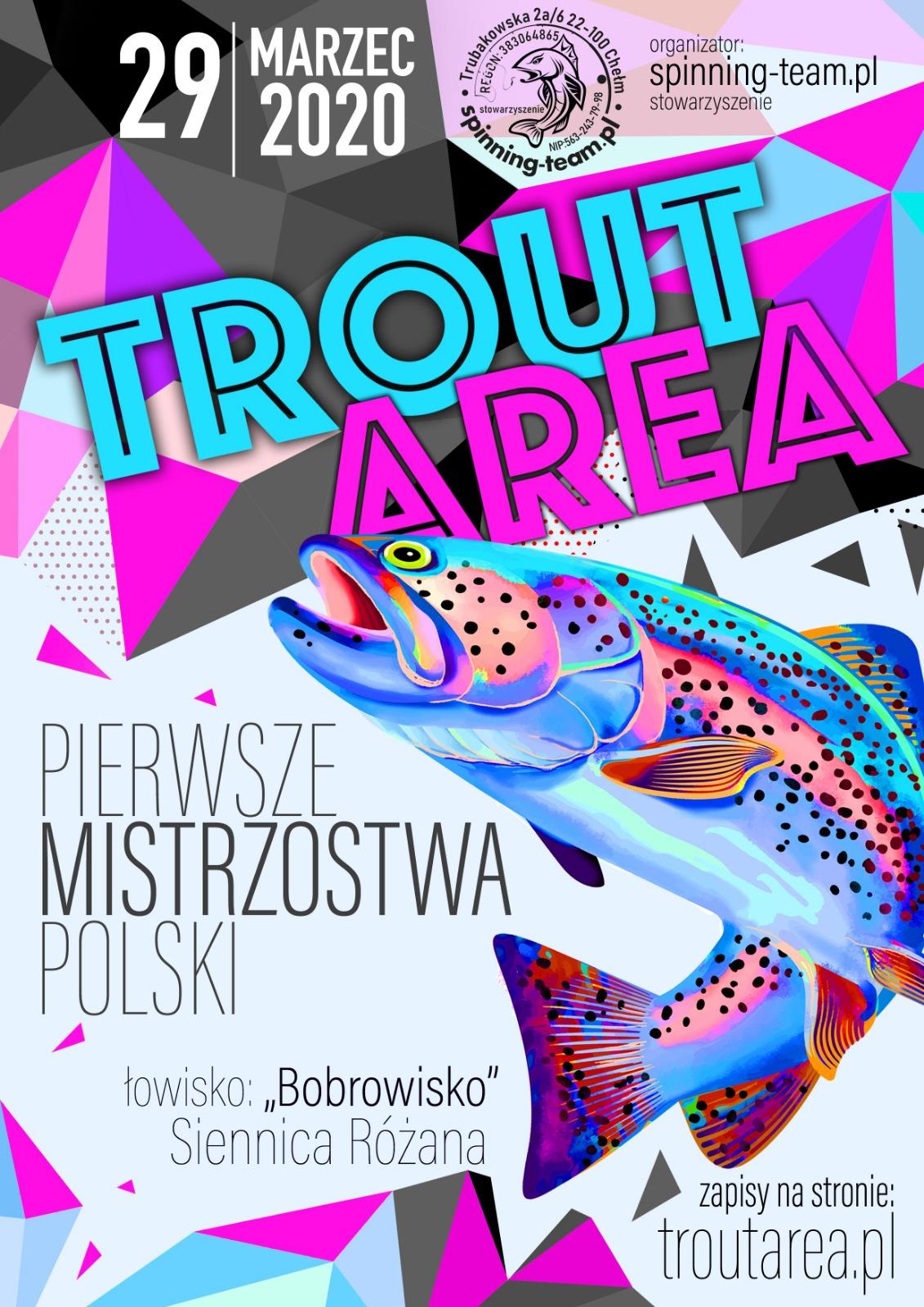 I Mistrzostwa Polski TROUTAREA